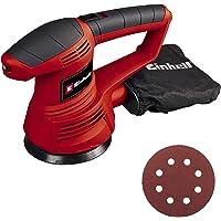 Einhell TC-RS 38 E - Lijadora electrónica circular 420 W, 230 V, color rojo y negro (ref.…