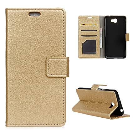 the latest 317c2 a8035 Amazon.com: Cover for Huawei Y6 Elite(Kickstand), BasicStock Flip ...
