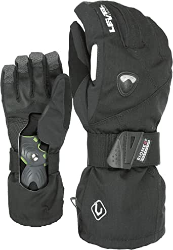LEVEL Fly Snowboard Gloves with Wrist Guards