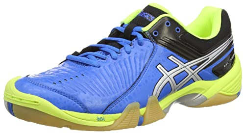 ASICS Gel-Domain 3 - Zapatillas de Balonmano para Hombre, Color Azul (Electric Blue/Silver/Neon Yell 3993), Talla 46.5: Amazon.es: Zapatos y complementos