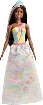 Barbie Dreamtopia Wearing Candy-Themed Outfit Princess Doll
