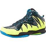 Nivia Heat Basketball Shoes, UK 7 (Black/Aster Blue)
