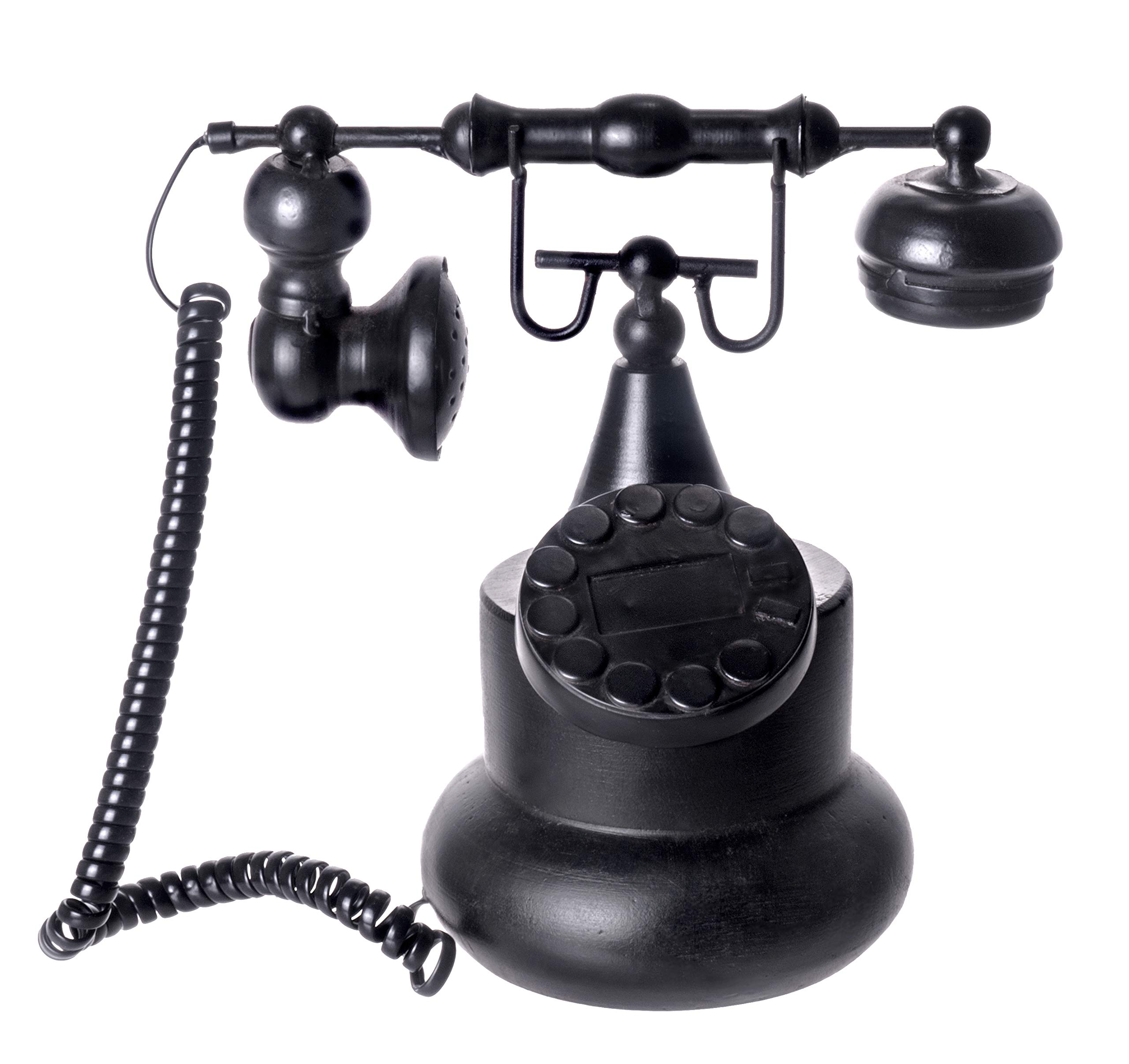 Red Co. Old Fashioned Vintage Front Desk Phone - Antique Home/Cafe Dialing Telephone Decoration by Red Co.