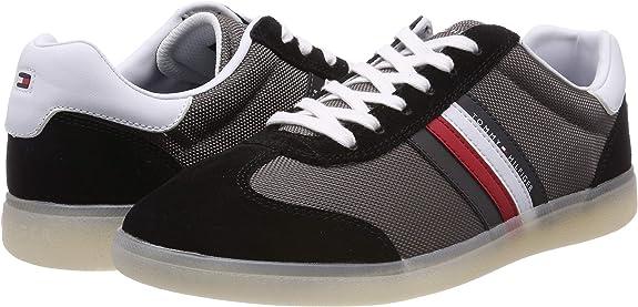 Tommy Hilfiger Seasonal Corporate Mix Cupsole, Zapatillas para Hombre: Amazon.es: Zapatos y complementos