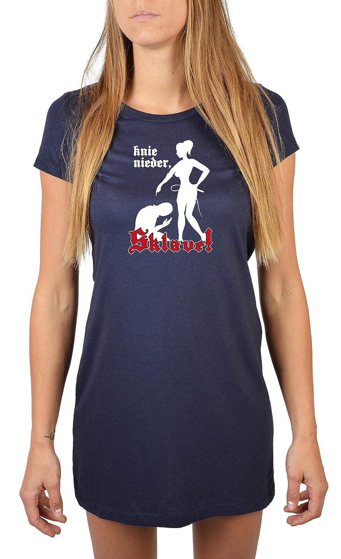 Nachthemd Damen Mädchen Nachtwäsche Frauen T-Shirt Negligee ...