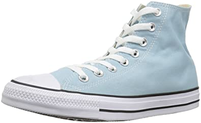 19f6059a4f3 Converse Chuck Taylor All Star Seasonal Canvas High Top Sneaker, Ocean  Bliss, 3 M