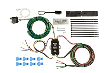 amazon com hopkins 55999 universal towed vehicle wiring kit tow vehicle wiring diagram at Wiring A Towed Vehicle