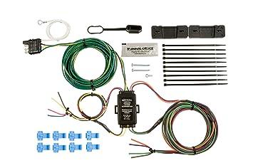 amazon com hopkins 55999 universal towed vehicle wiring kit tow vehicle wiring harness at Wiring A Towed Vehicle