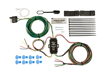 81T3y7Bs0kL._SX425_ amazon com hopkins 55999 universal towed vehicle wiring kit automotive