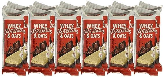 Prozis Whey Protein & Oats, Sabor Chocolate - 12 Unidades: Amazon.es: Salud y cuidado personal