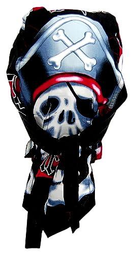 Rocker & Biker Bandana Cap - Pirate Skull
