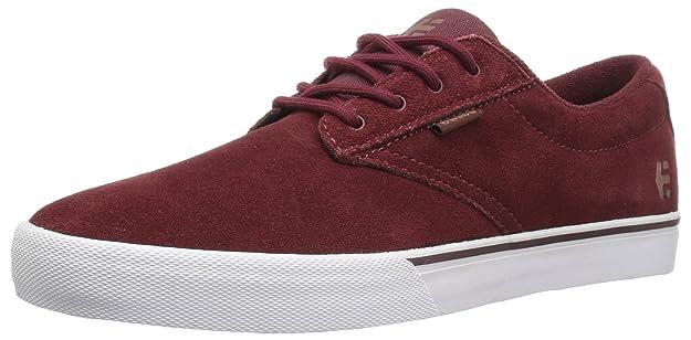 Etnies Jameson Vulc Men Sneaker burgundy/ tan/ white, Schuhe Herren:41