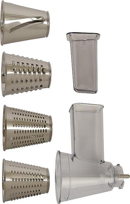 Moulinex XF6320B1 - Accesorio para robot de cocina (plástico y acero inoxidable): Amazon.es: Hogar
