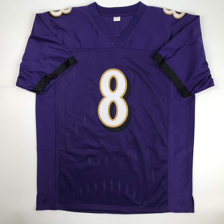 big sale 5e06e fe93c Amazon.com: Unsigned Lamar Jackson Baltimore Purple Custom ...