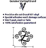 Monogram die cut Genuine ViaVinyl decal