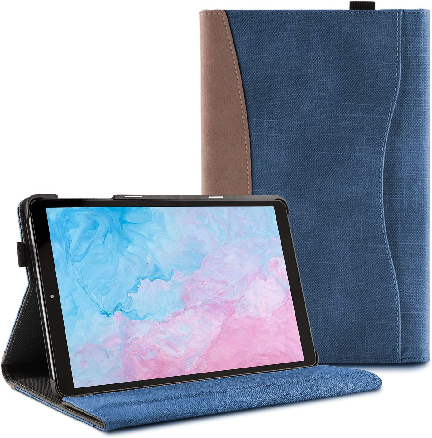 Premium Leather Business Stand Folio Cover Ztotop Case for Samsung Galaxy Tab A 10.1 2019 Black for Samsung Galaxy Tab A 10.1 T510 // T515 2019 Tablet