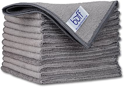 12 new green microfiber towels new cleaning cloths bulk 12x12 manufacturers sale