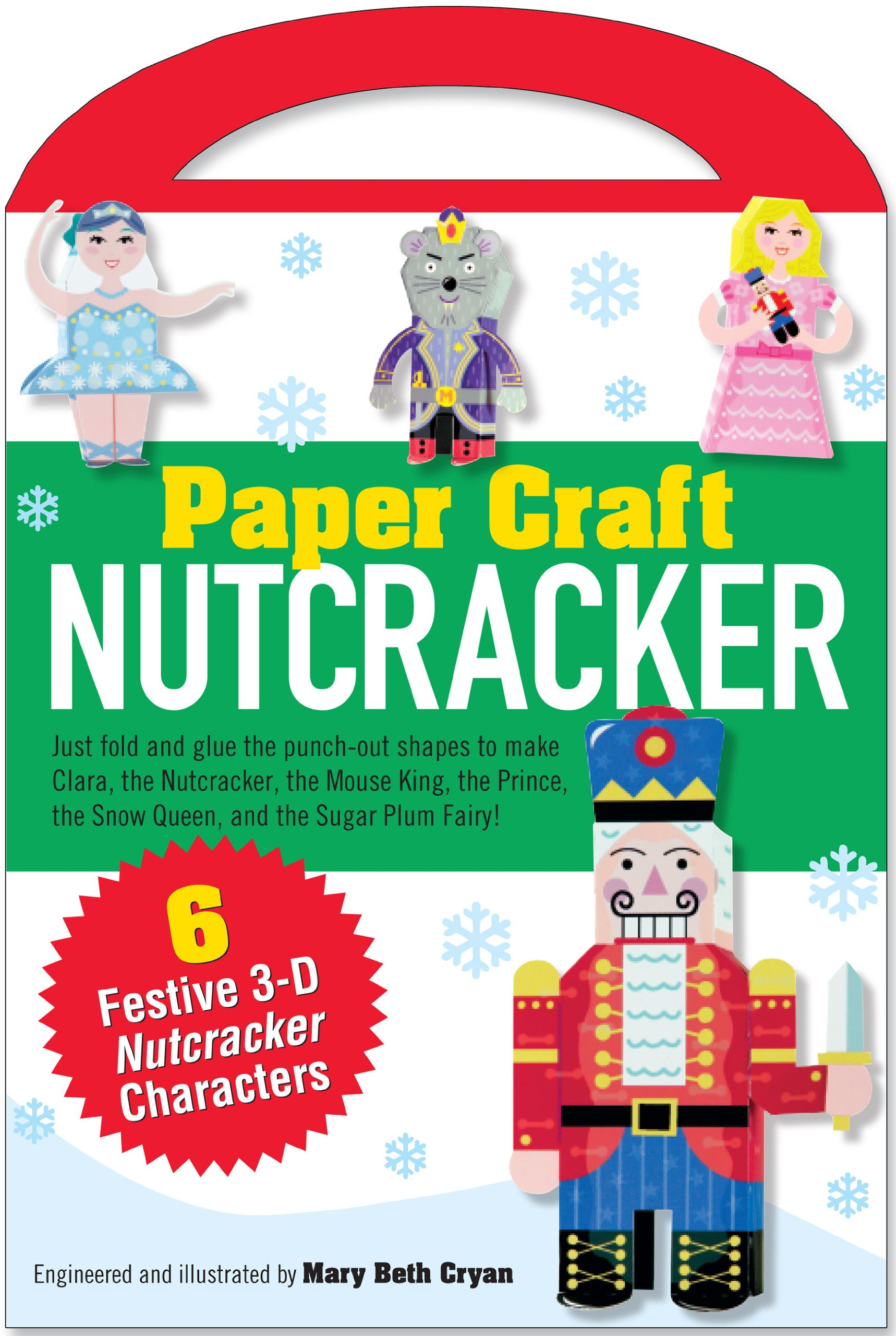 Nutcracker Paper Craft Kit Papercraft product image