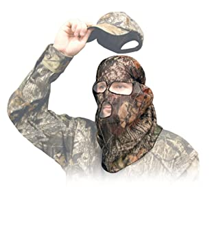 Primos Ninja Nylon mesh full face mask mossy oak break up ...