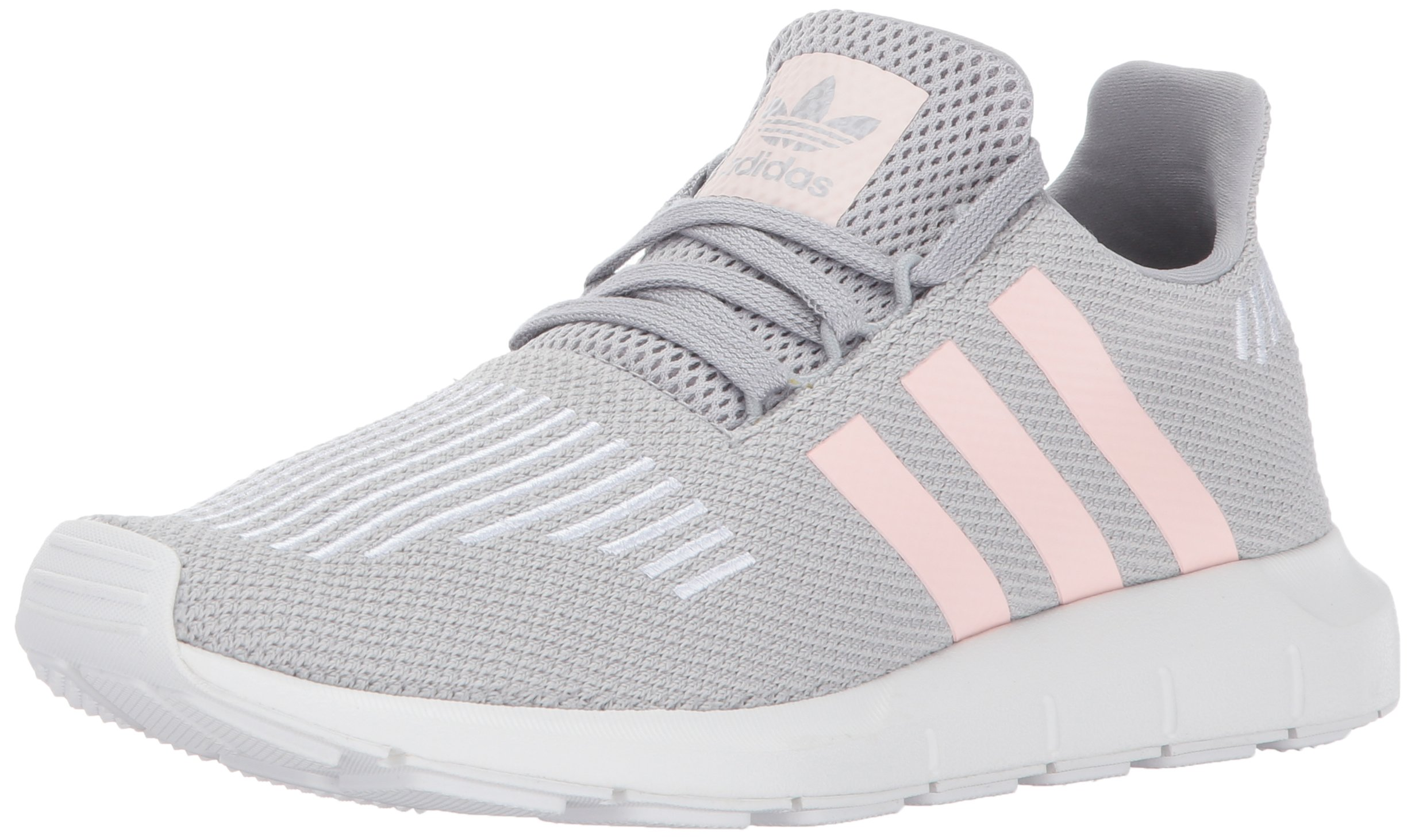 adidas Originals Women's Swift W Running-Shoes,Grey Two/Ice Pink/White,8.5 Medium US