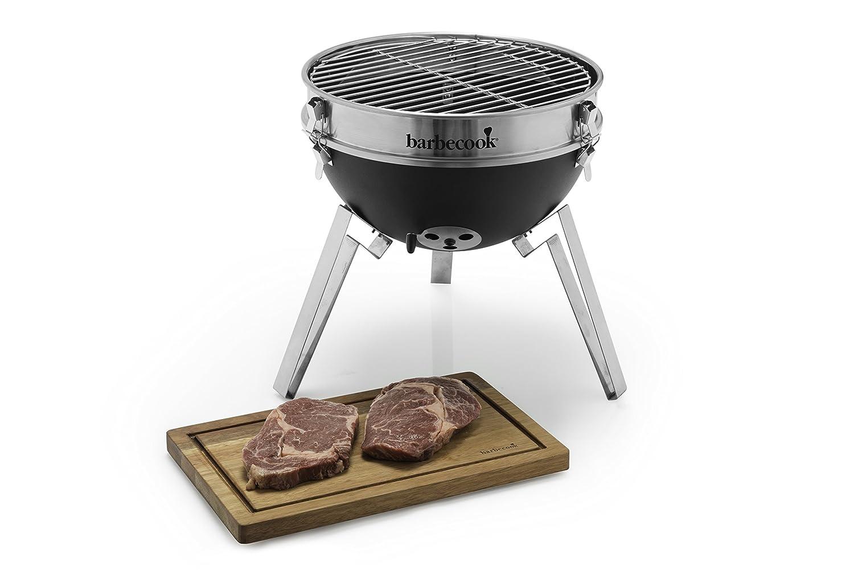 Barbecook Rauchfreier Holzkohlegrill : Barbecook holzkohlegrill billy schwarz 33 x 33 x 56 cm 2231510000