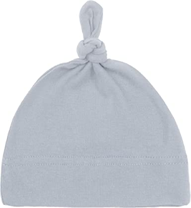 EE/_ EG/_ SOLID COLOR NEWBORN INFANT KNOT HAT CAP BABY COTTON TODDLER SOFT BEANIE