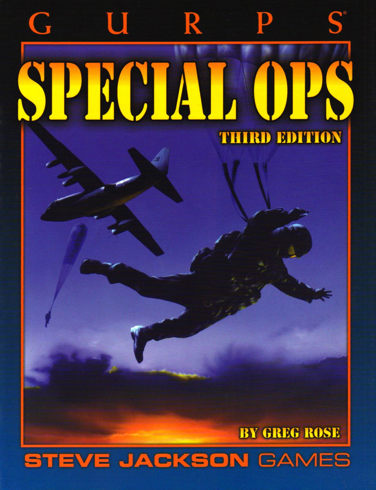 GURPS Special Ops 3ed pdf