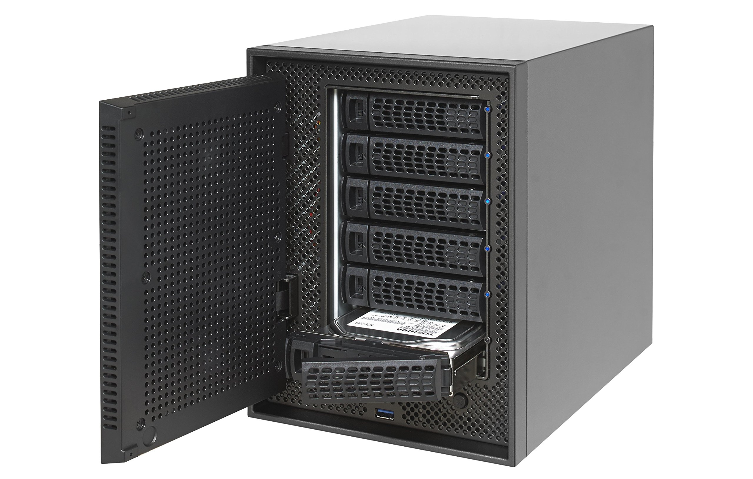 NETGEAR ReadyNAS 6-Bay Ultimate Performance Network Attached Storage, Diskless, 60TB Capacity, Intel Xeon 2.2GHz Quad Core Processor, 8GB RAM (RN626X00-100NES) by NETGEAR (Image #5)