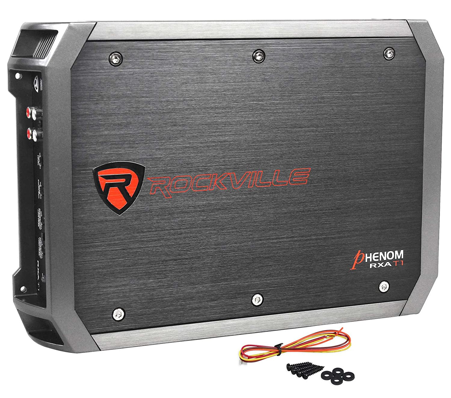 Rockville Rxa-t2 New Rockville RXA-T2 2400 Watt Peak/1250w RMS 2 Channel Amplifier Car Stereo Amp - Set of Audiosavings