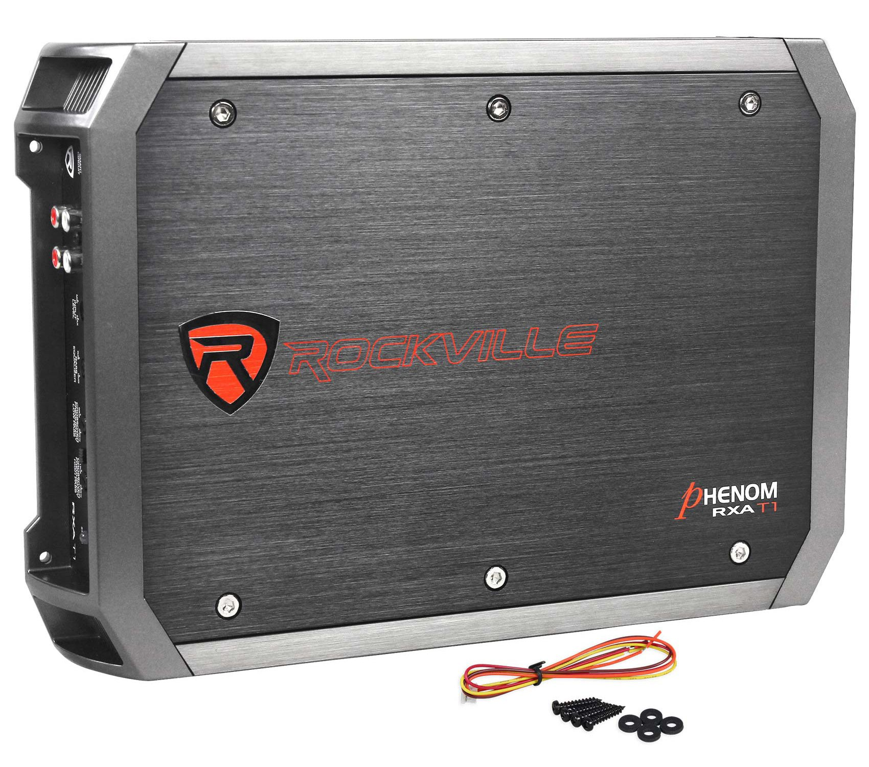 New Rockville RXA-T1 1500 Watt Peak/750w RMS 2 Channel Amplifier Car Stereo Amp