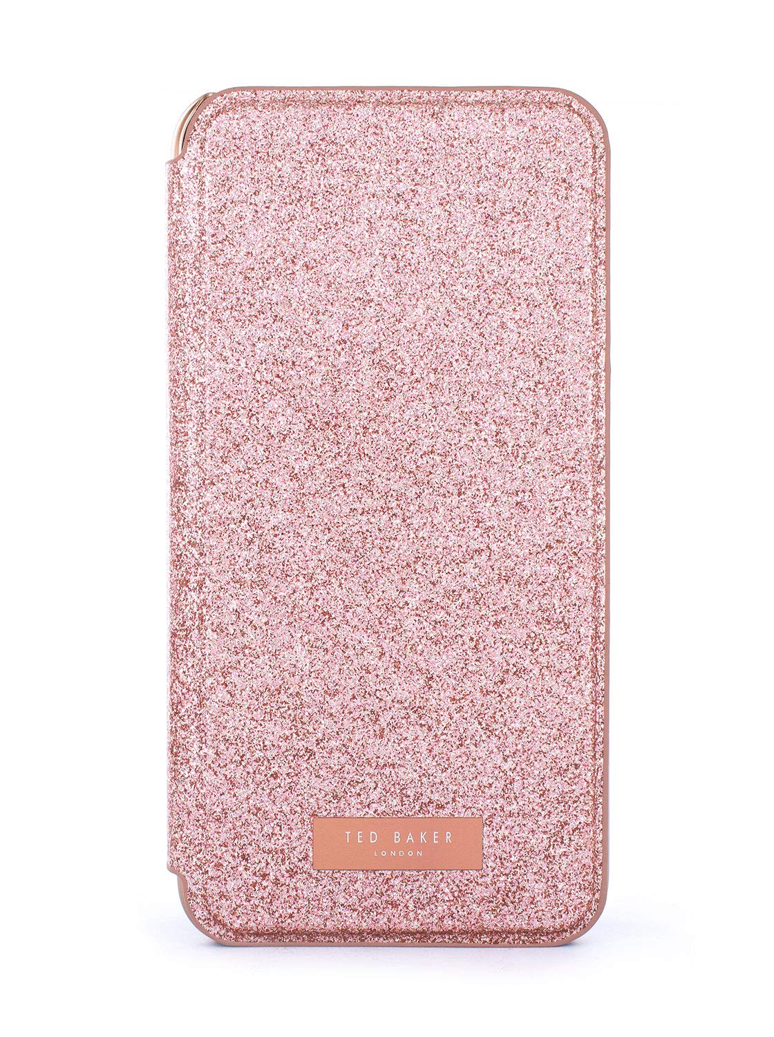 Ted Baker Sparkly Fashion Mirror Folio Case for iPhone XS MAX, Protective Cover iPhone XS MAX for Professional Women/Girls: Amazon.es: Electrónica