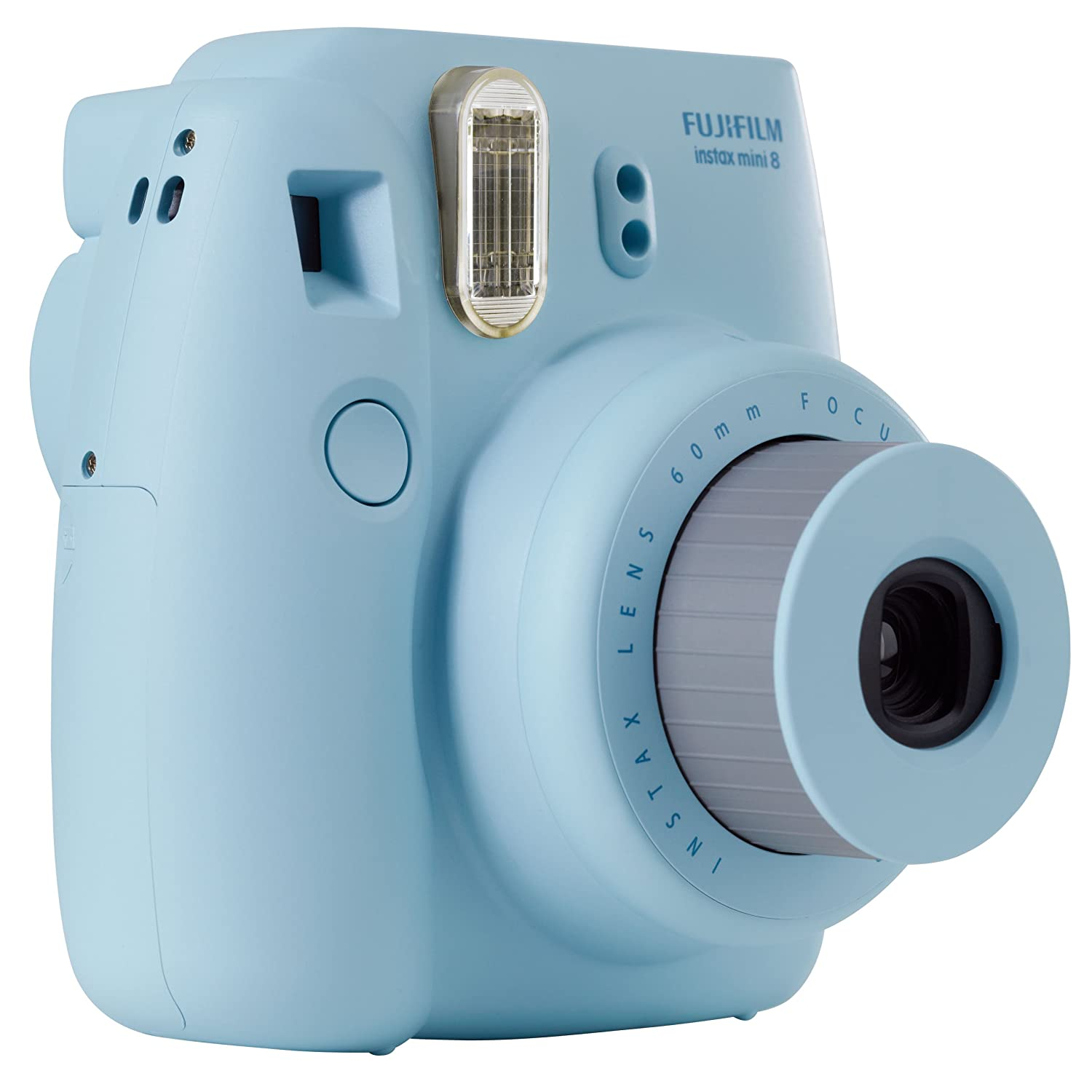 Fujifilm Instax Mini 8 Instant Camera Blue 8s One Piece Discontinued By Manufacturer Polaroid Photo