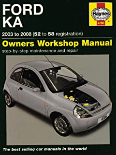 ford ka service and repair manual haynes service and repair manuals rh amazon co uk Ford Fusion Hatchback Ford Mondeo Hatchback Open
