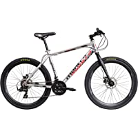 Montra Helicon Disc 27.5T 21 Speed Super Premium Cycle(Silver)