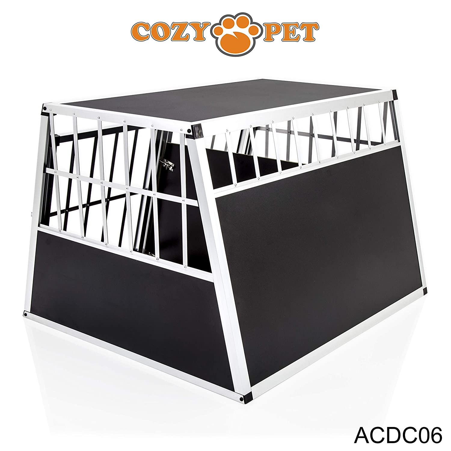 We do not ship to Northern Ireland, Scottish Highlands /& Islands, Channel Islands, IOM IOW. Cozy Pet Aluminium Car Dog Cage 6 Travel Puppy Crate Pet Carrier Transport Model ACDC06.