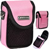 LUPO S-CB-0102 Camer Compact Camera Case Soft Bag Pouch with Strap Belt Clip Pocket Universal