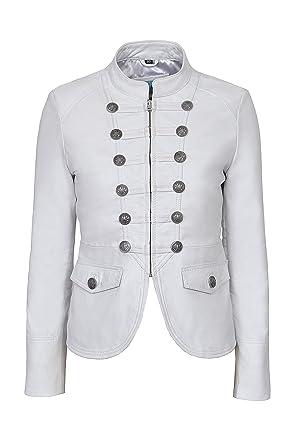 comprare in vendita famoso marchio di stilisti l'atteggiamento migliore Victory Ladies White Military Parade Style Soft Real Nappa Leather ...