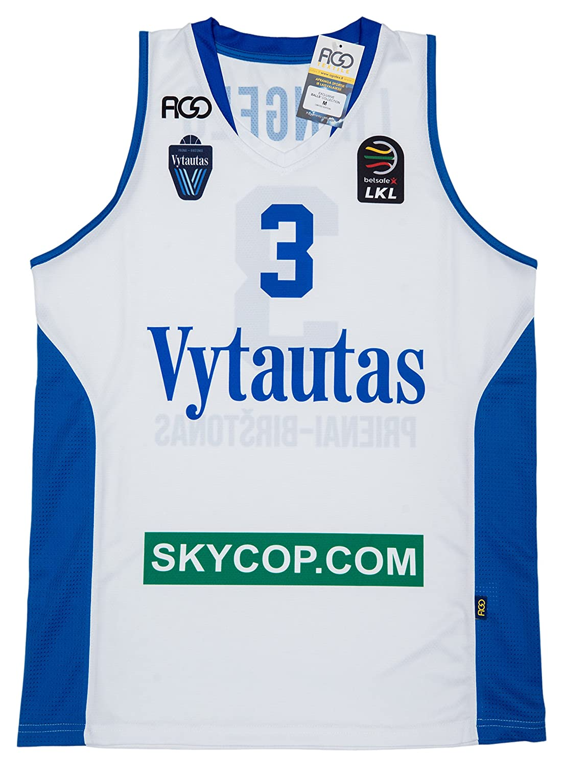 721947ad683 Amazon.com: Prienų-Birštono Vytautas LaMelo and LiAngelo Ball Original Team  Jersey: Clothing