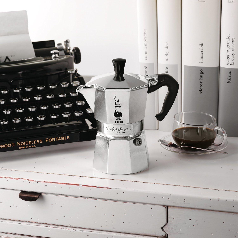 Bialetti 1164 Moka Express Export Espresso Maker Silver