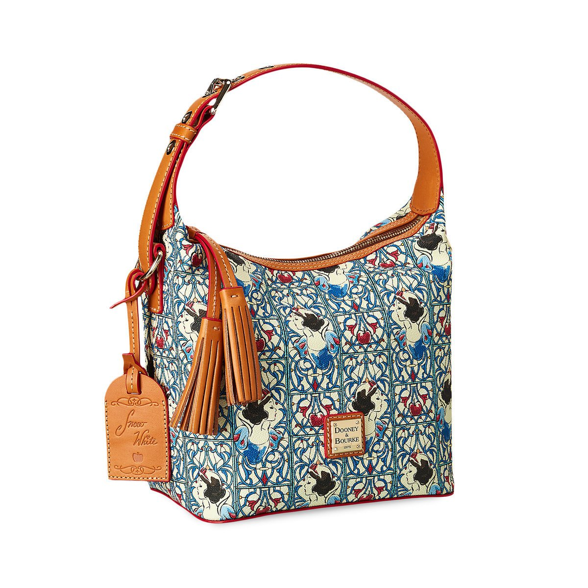 Amazon.com: Disney Dooney & Bourke Princess Snow White Tassel Crossbody  Bag: Shoes