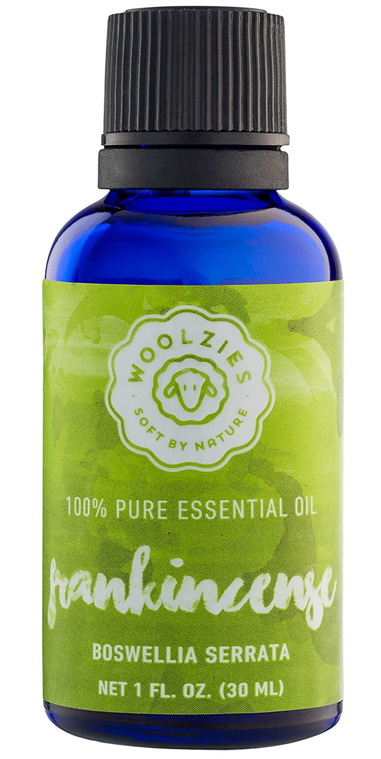 Woolzies best quality 100% Pure Frankincense essential oil, Therapeutic grade, 1 fl oz by Woolzies   B01CFJ32OE