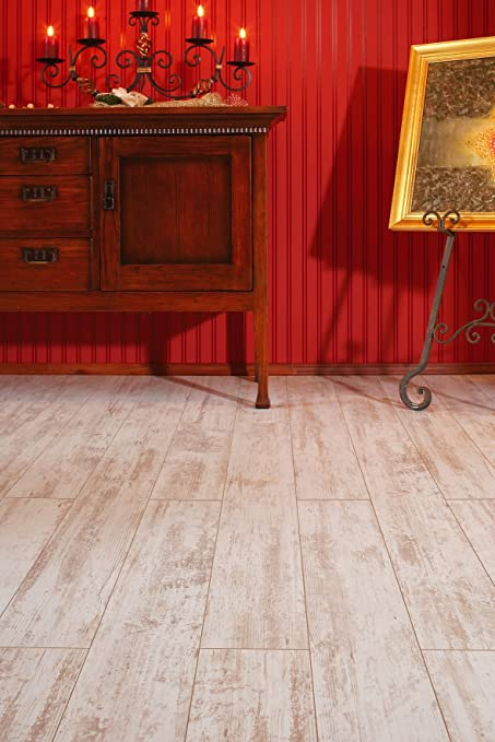 Moderna Vision Laminate Flooring White Antique Amazon Diy