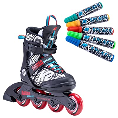 K2 Skate Raider Splash Inline Skate : Sports & Outdoors