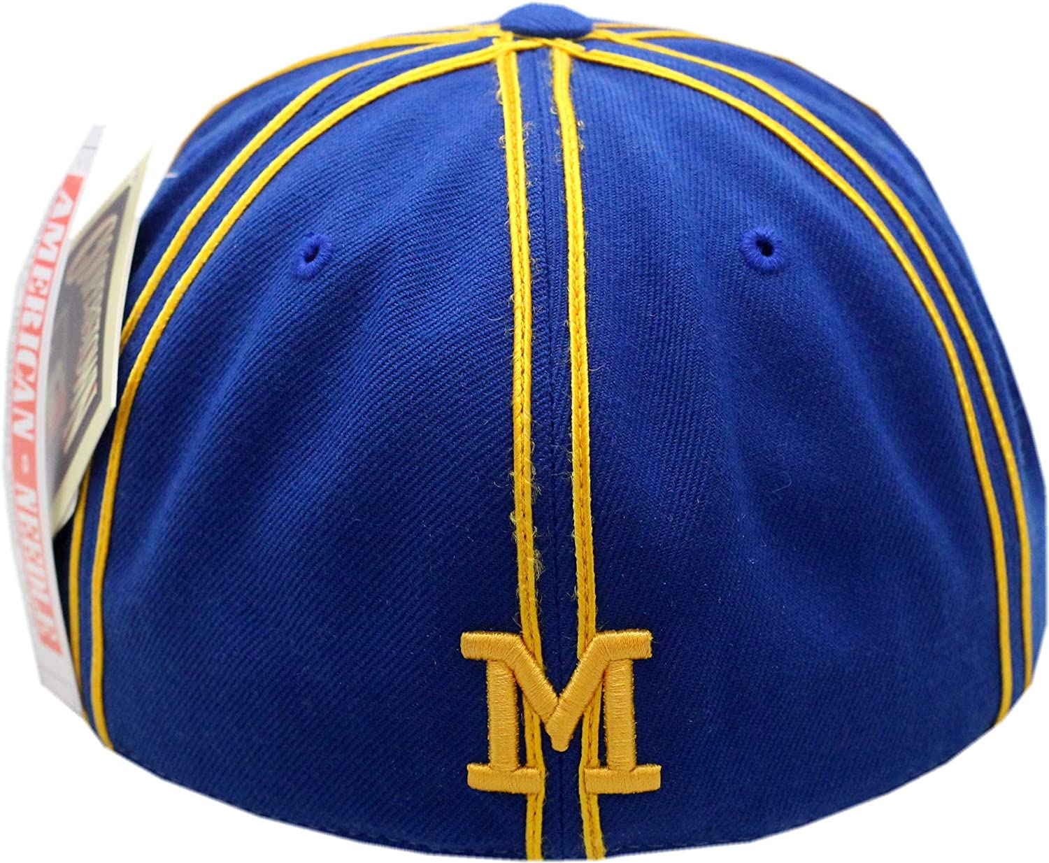 Milwaukee Brewers Fitted Hat Traxside 7 1//8 Blue