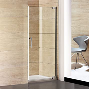 80 x 185 cm nichos Puerta de ducha puerta puerta oscilante para mampara de ducha (Puerta de colgante P1 – 80E + 1B): Amazon.es: Bricolaje y herramientas