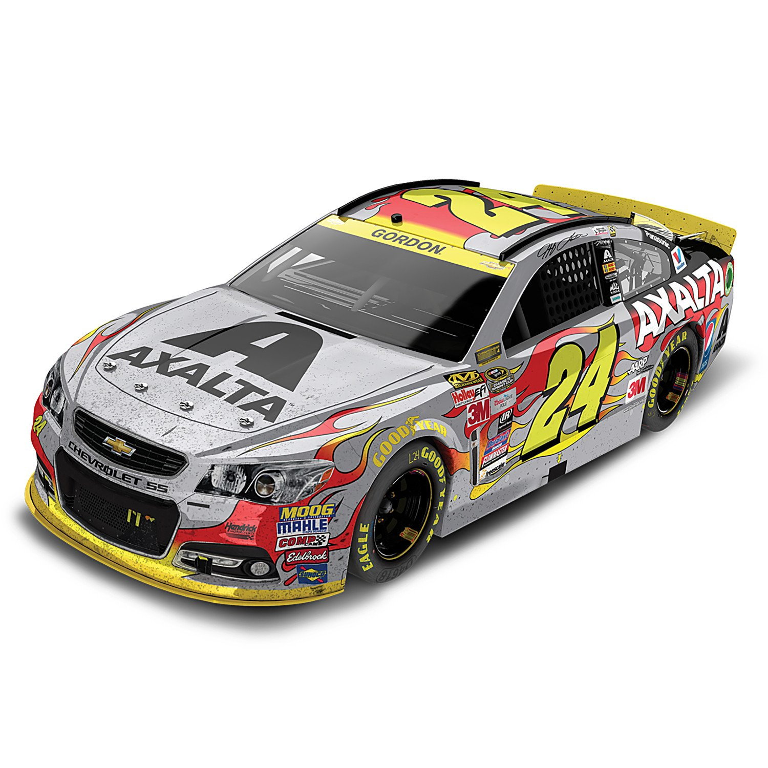 2015 NASCAR Jeff Gordon No 24 Axalta Homestead 1:24 Scale Diecast Car by The Hamilton Collection