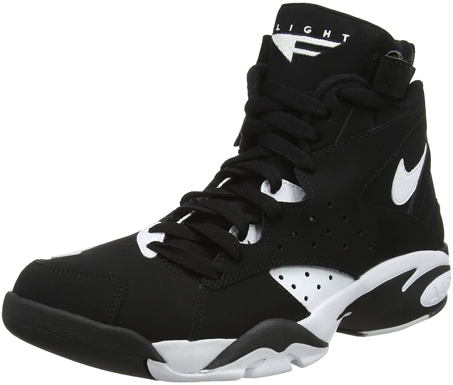 new style bcef8 4f5f1 Top1  NIKE Air Maestro II Limited Men  s Basketball Shoes Black White  ah8511-001