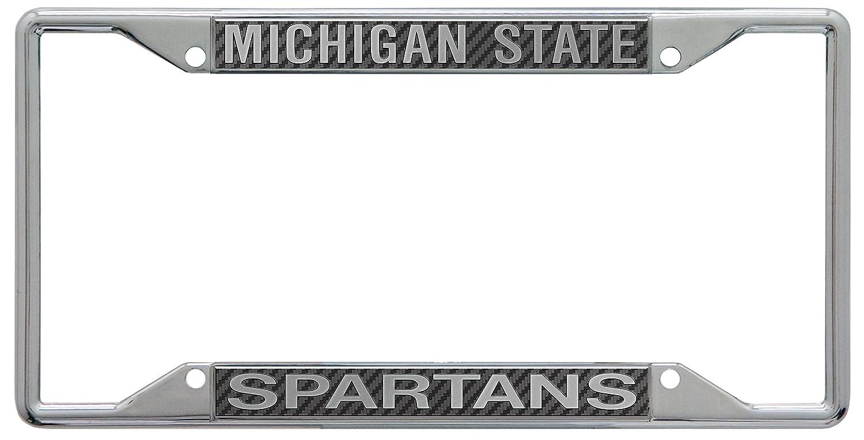 WinCraft Michigan State University S18987 LIC PLT Frame S//S Printed