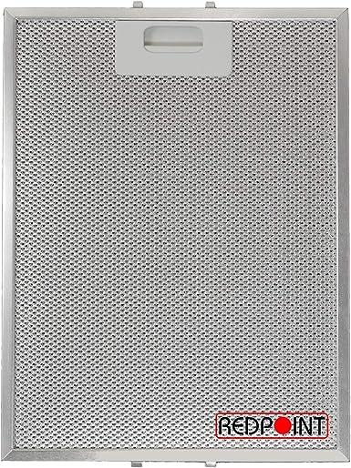 Filtro de aluminio para campanas extractoras, 247 x 327 x 9 mm, adaptable: Turboair: Amazon.es: Grandes electrodomésticos