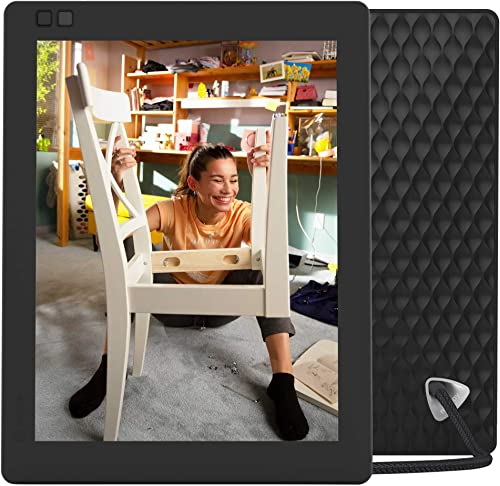 Nixplay Seed Ultra 10 Inch 2K WiFi Digital Photo Frame – Share Moments Instantly via App or E-Mail